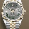 Rolex Datejust 36mm Wimbledon Dial New